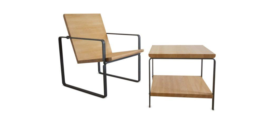 Designový nábytek z přírodních materiálů